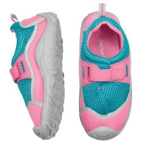One Step Ahead Kid's Stay-put Swim Shoes Pink/aqua 7 Toddler by One Step Ahead. $11.01. Our kids' swim shoes really stay put, thanks to their quick-grip anchor strap! And the high-traction sole protects little feet from rocky beaches, hot sand, and slick pool decks. We made our kid's water shoes lightweight and flexible, with an odor-busting antimicrobial insole. Imported. Designed by OneStepAhead! Not all kids' UV apparel is made like Sun Smarties™! Rest assured, this item ...
