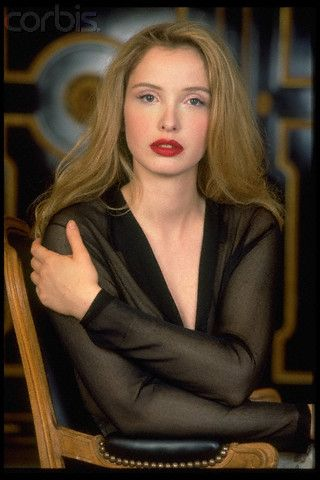 French actress Julie Delpy
