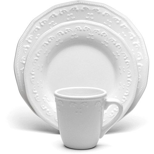 Better Homes And Gardens White Dinnerware Sets   Google Search