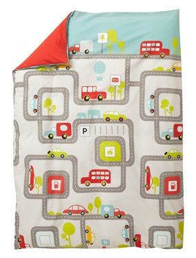 DOWNTOWN Duvet Cover, Child's Bedroom | Vertbaudet