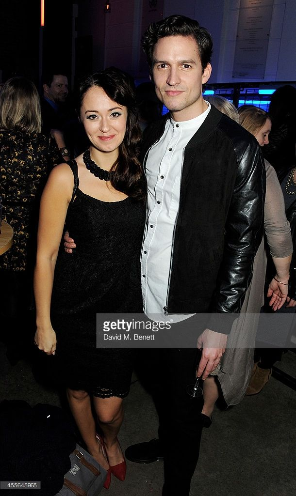Ben Aldridge & Susannah Fielding attend an after party celebrating the press night performance of 'American Psycho' at The Almeida Theatre on December 12, 2013.