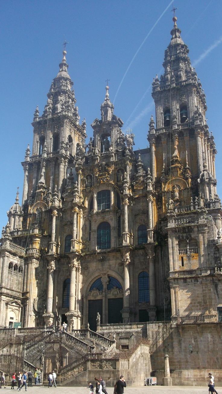 Catedral Santiago de Compostela in Galicia norwestern Spain.