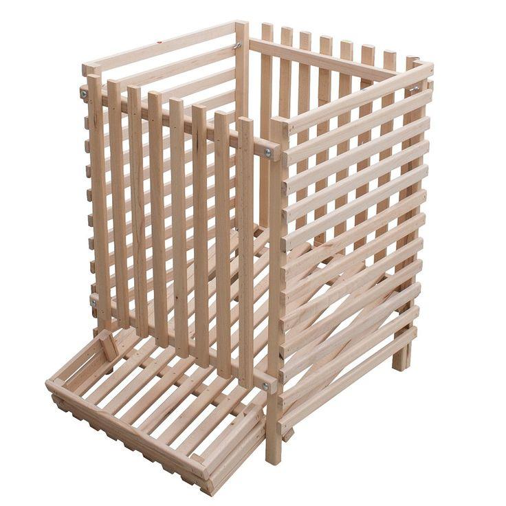 Unimet - Cajón dispensador de patatas (madera, 4 quintales): Amazon.es: Hogar