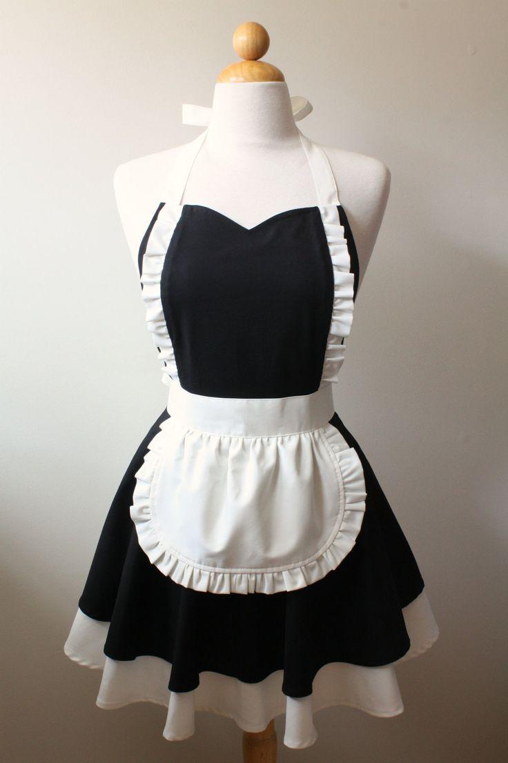 French Maid Apron. $38.75, via Etsy.