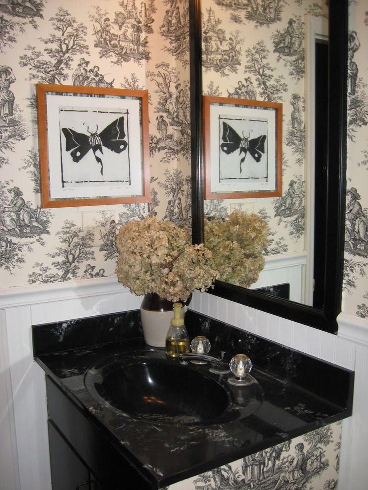 128 best farmhouse decor images on pinterest country home decorating farmhouse decor and for for French country bathroom wallpaper