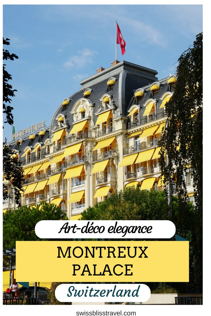 The Montreux Palace is an elegant art-deco hotel on the shores of Lake Geneva. It probably has welcomed more music legends than any other hotel in Switzerland.