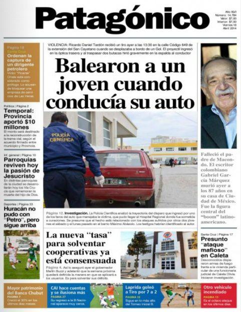 Así reflejan los diarios argentinos y del mundo la muerte de García Márquez   García Márquez   minutouno.com