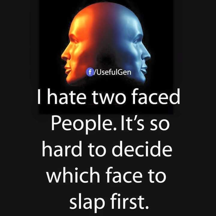 Best Slap On Double Standard People Two Faced People English Quotes Double Standards