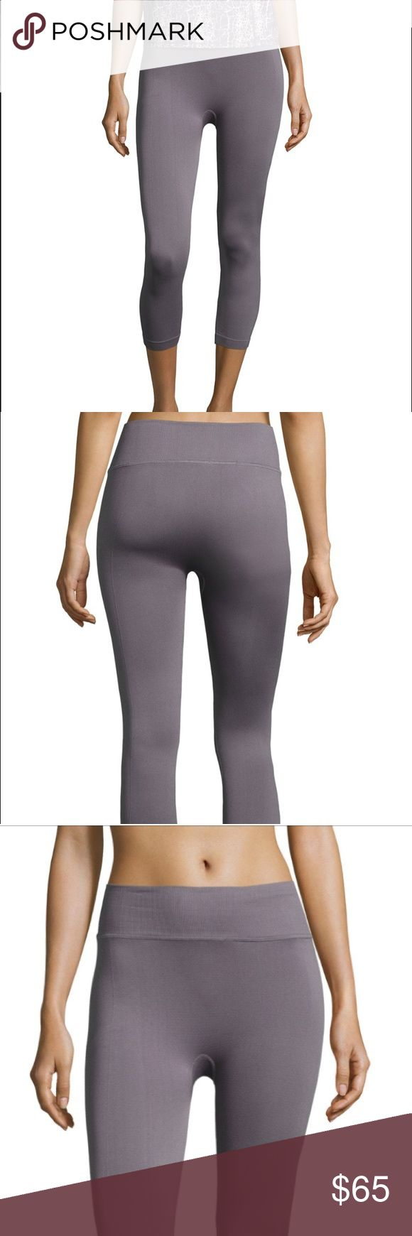 Yummie Tummie Yoga Capris Shark color yogas from Yummie Tummie designer at Neiman Marcus . New with tags! Size M/L Yummie Tummie Pants Leggings