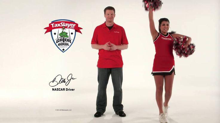 Dale Earnhardt Jr Gator Bowl Spot 2014  TaxSlayer.com