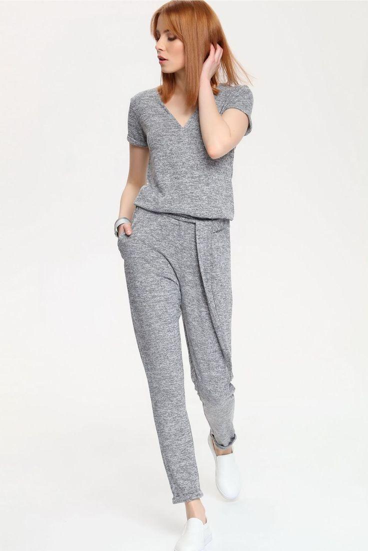 Top Secret Inventive Grey Jumpsuit
