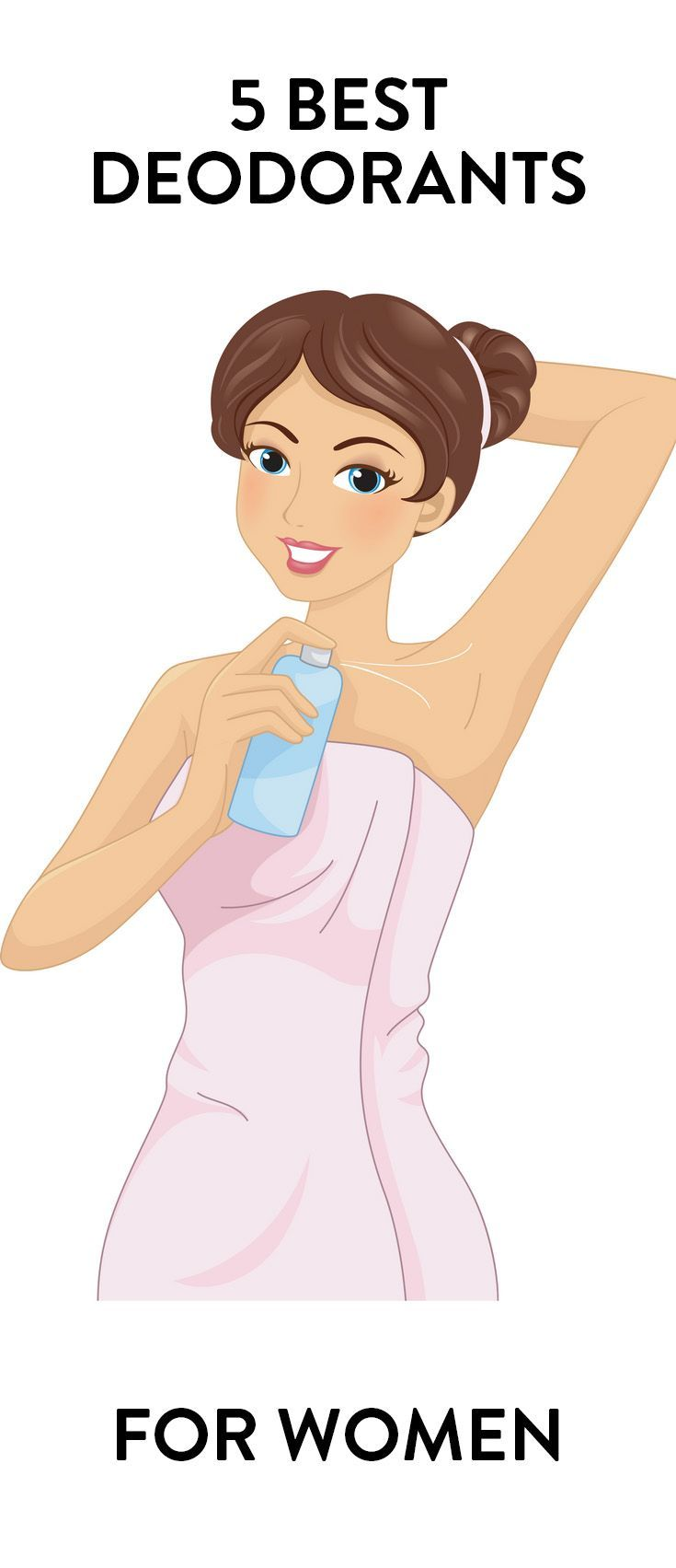 We tested everything from Secret to Degree in order to find the 5 best deodorants for women.  How does yours stack up?