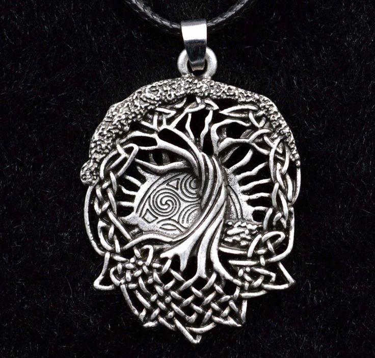 Life Tree Celtic Pendant