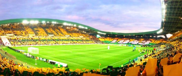 @Nantes Le stade de La Beaujoire - Louis Fonteneau, est le nom officiel du principal stade de la ville de Nantes. Il est situé dans le quartier Nantes Erdre (Beaujoire) juste en face du parc des expositions. #9ine