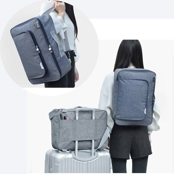 Multi-functional Luggage Storage Packing Bag Travel Business Laptop Bag Shoulder Bags Backpack Oxford