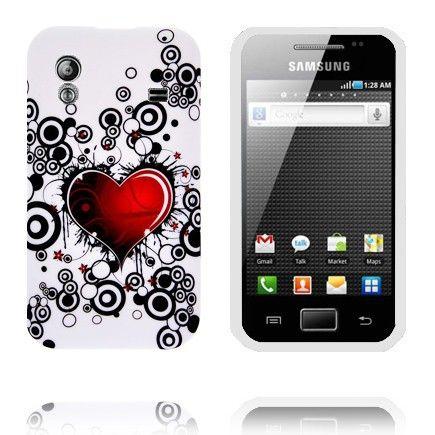 Symphony (Rødt Hjerte) Samsung Galaxy Ace Cover