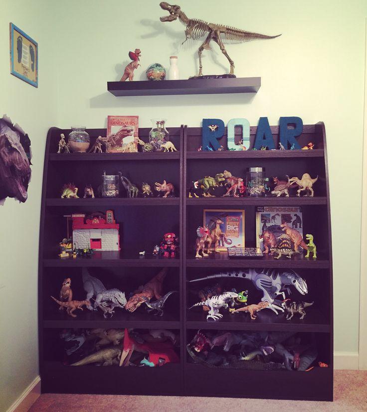 "Dinosaur ""museum"" In My Little Paleontologist's Room. Boys"