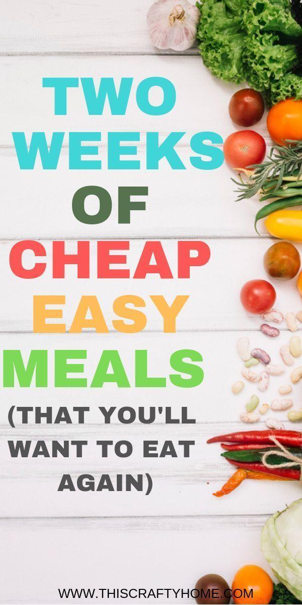 14 Budget-Rezepte, günstige einfache Gerichte, di…