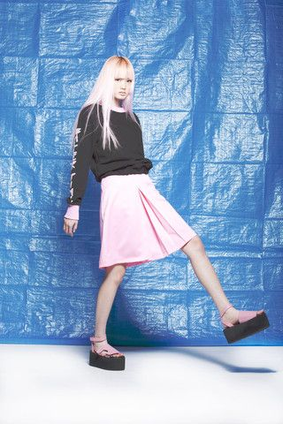 House of Cards Box Out Knee Skirt – Eclectic Ladyland