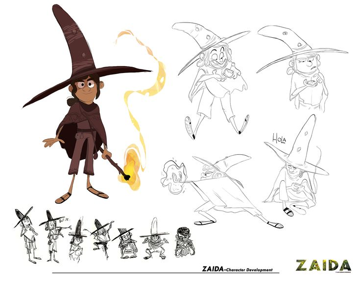 Zaida and the lost stones-Story project on Behance