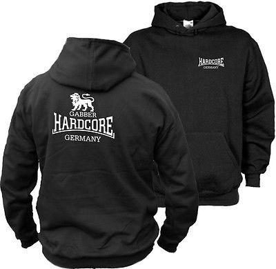 Hardcore T-Shirt Hooded Sweater Kapuzen ( Motiv 7 ) - Angerfist - MOH -Gabber