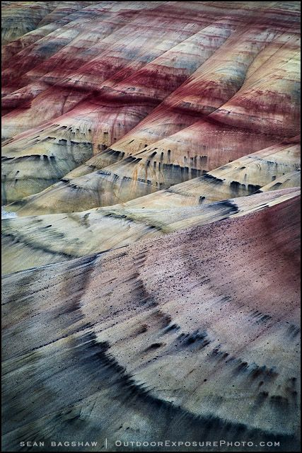 painted hills fossil beds, oregon.....gorgeous....inspires my furniture painting...
