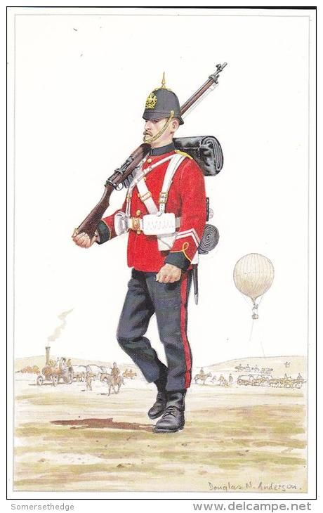 British; Corps of Royal Engineers, Sapper, c.1900