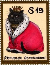 オーストリア 「黒猫の王様」