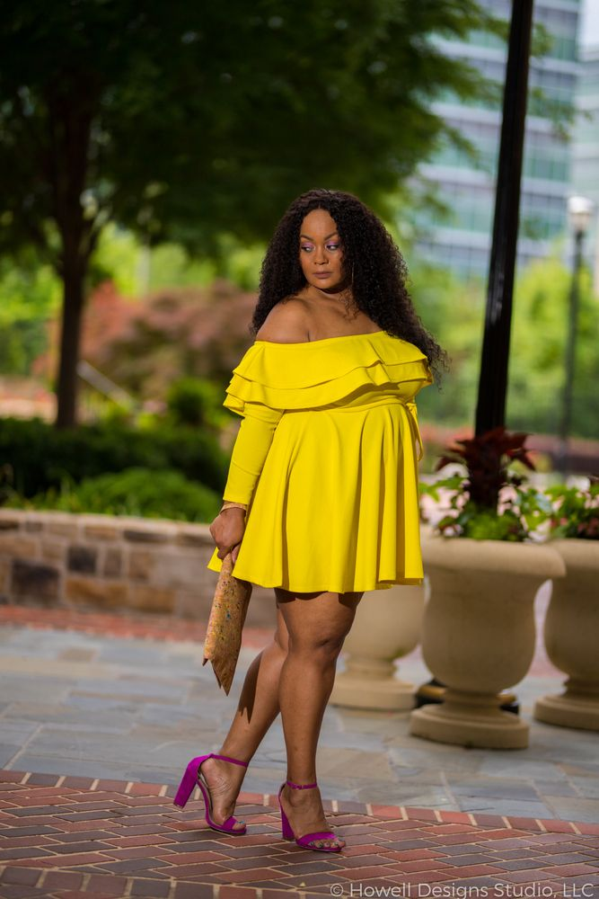 My Style: Nothing Mellow About This Yellow Plus Size Dress | Plus ...