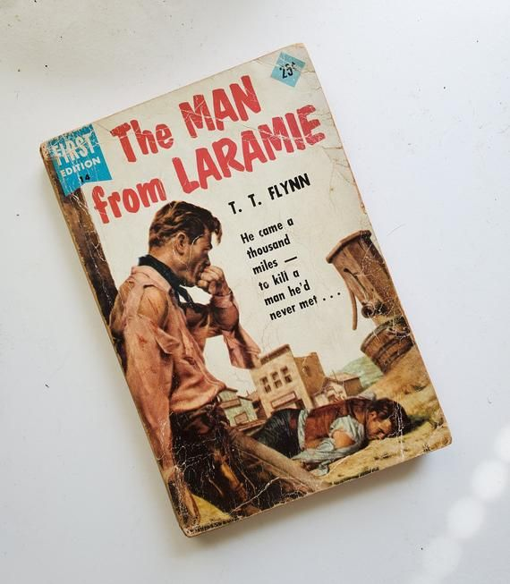 Vintage 1950s The Man from Laramie Western Paperback Novel by T.T. ...