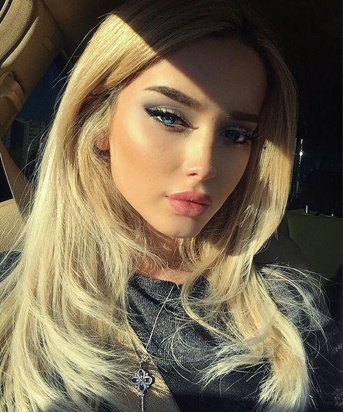 grafika beauty, blonde, and makeup