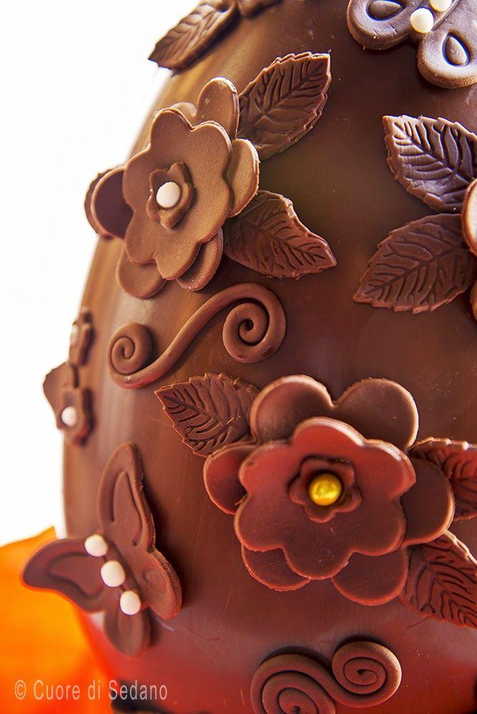 Uovo Di #Cioccolato #Decorato
