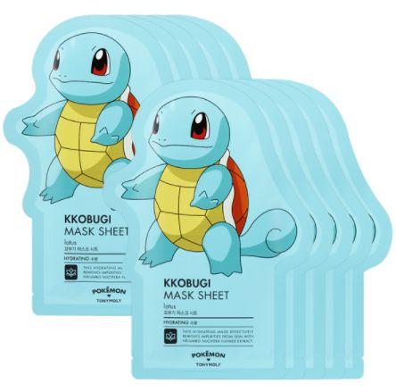 [TONYMOLY] Pokemon Kkobugi Mask Sheet (10 PCS) - Newtle
