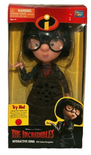 The Incredibles Interactive Edna with Fashion Recognition Disney,http://www.amazon.com/dp/B000TOLBNC/ref=cm_sw_r_pi_dp_RP-zsb0Y587AHM9Q