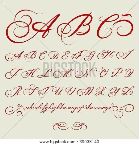 Super Plus de 25 idées uniques dans la catégorie Calligraphie alphabet  MG74