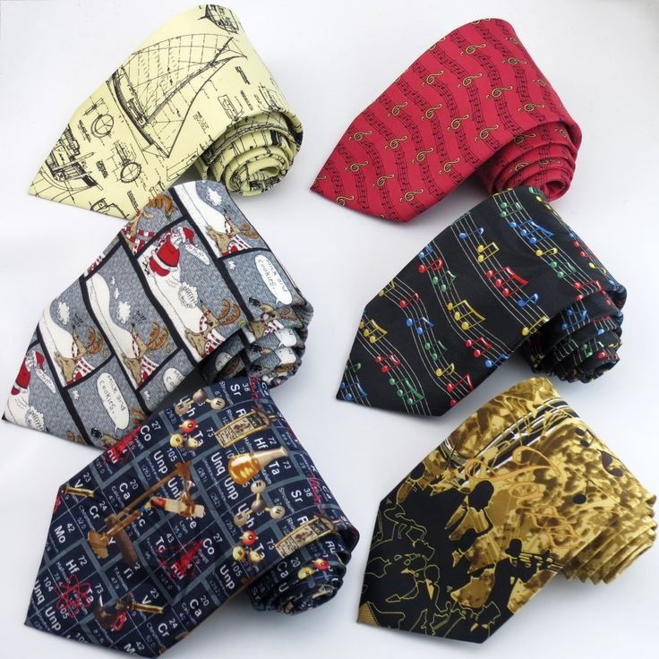 Printed Tie For Men Cartoon Music Dollar Santa Claus //Price: $14.00 & FREE Shipping Over 180 countries //    #woodenbowties