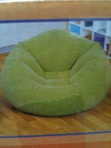 Intex Green Inflatable Beanless Bag Chair