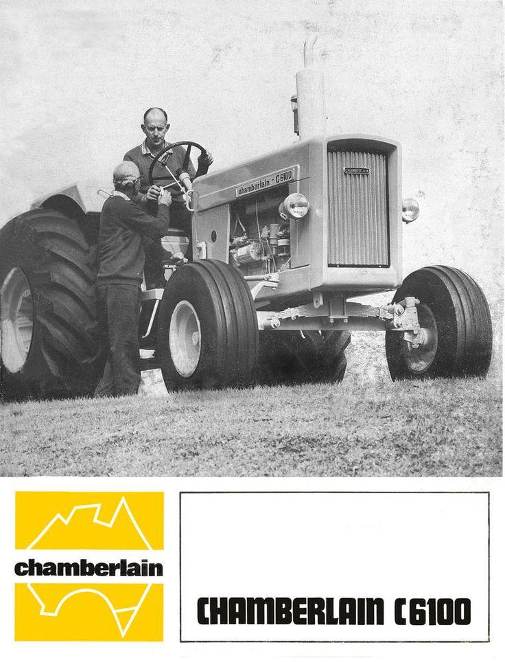 Chamberlain C6100 Tractor Sales Brochure 1970s