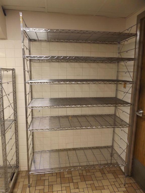 Six Shelf Erecta Shelf Metal Pantry Rack Pantry Rack Shelves