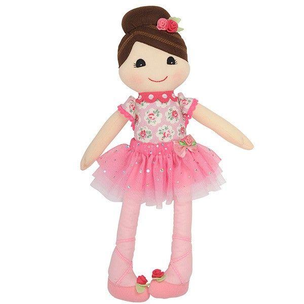 Tiger Tribe - Storytime Rag Doll Nina Ballerina 'Watch me mum, I'm a ballerina' says Miss P as she dances around the house #EntropyWishList #PinToWin