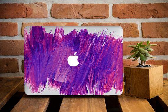 Watercolor Fun Macbook Hard Case MacBook by CreativeMacBookCases