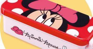 ミニーマウスのランチボックス