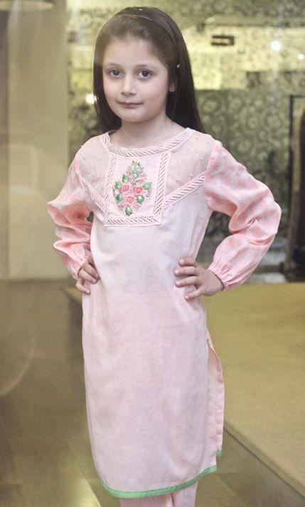 Buy Pink Chiffon Salwar Kameez Dress by PakRobe.com