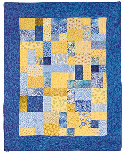 Yellow Brick Road Pattern Quilt Patterns Free Keepsake