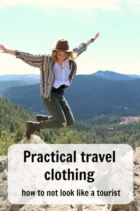 Practical travel clothing – how to not look like a tourist. Tips for neutral dressing while travelling. To help you blend in, have more authentic experiences, and avoid negative attention. Ann K Addley travel blog