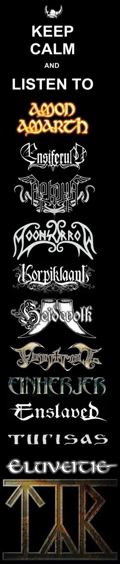 …and other bands of Viking/Folk Metal!