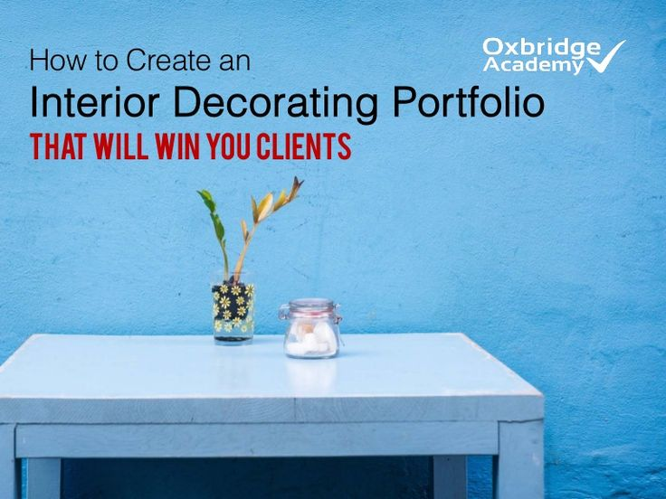 There are many people who call themselves 'interior decorators'. But only those with clients can call themselves professionals.  So how do you win over clients…