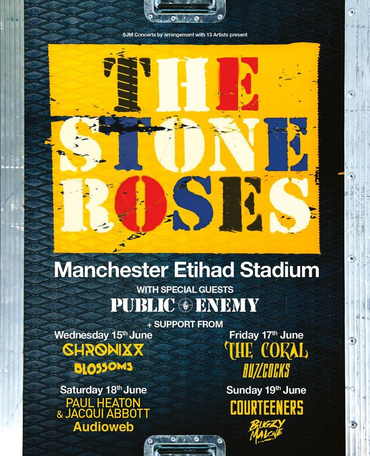 The Stone Roses (@thestoneroses) on Twitter
