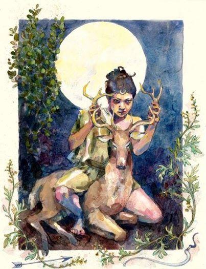 Foto: Godinnendag deze week is een beetje speciaal. Het gaat over Artemis, een dame waaraan de godin Carya gelinkt is. De cultus van Carya zou na een tijd overgegaan zijn in Artemis.  Maar wie is Artemis? Ze is een dochter van Zeus, Godin van de jacht, natuur en geboortes. Maar ook Godin van de beesten, wildernis en maagdelijkheid. Haar tweelingbroer is Apollo en volgens de legende hielp Artemis na haar eigen geboorte haar moeder Leto met de bevalling van haar broer. Haar verhalen gaan ver…