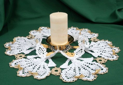Circle of Angels Crinoline Doily crochet pattern to buy